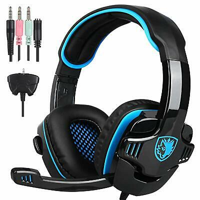 SADES SA-708GT Universal Gaming Headset with Microphone for PS4 PC Laptop XBOX