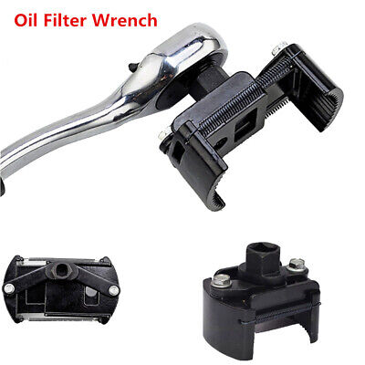 """Auto Tool Oil Filter Wrench Cup 1/2"""" Housing Spanner Remover 60~80mm Adjustable"""