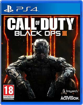 Call of Duty Black Ops 3 III PS4 PlayStation 4 Brand New Free Shipping