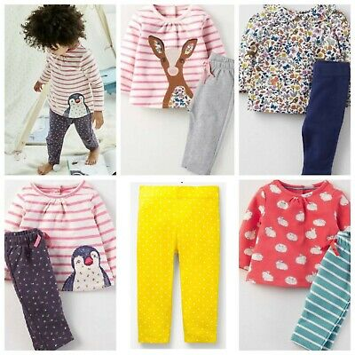 Ex Baby Boden Girls Soft Jersey Pants (Part of playsets)  0-4Years