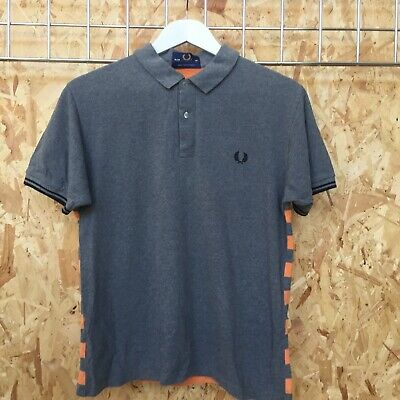 697d1a283 NWT FRED PERRY Laurel Wreath Collection Textured Knitted Shirt Style ...