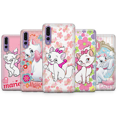 Marie Aristocats Kitten Disney Phone Case Cover For Huawei Mate 20 P10 P20 P30