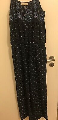 d3a17c5d13 H&M JUMPSUIT HOSENANZUG Party Cocktail Schwarz Overall Gr. 34/36 ...