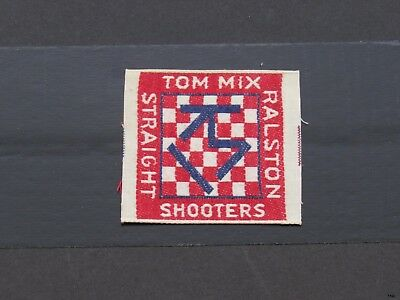 8e530ac181a20 VINTAGE TOM MIX Ralston Straight Shooters Club Sewing Patch -  15.99 ...