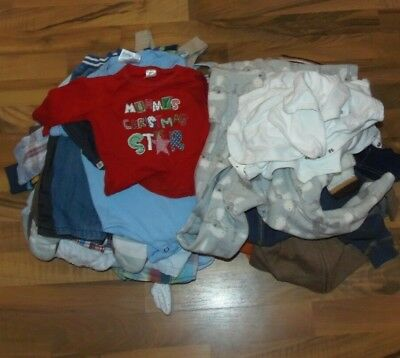Huge bundle of baby boys clothing, Age 3-6, 6-9 months 42+ items, Next, M&S,