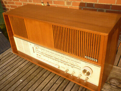Grundig Röhrenradio tube receiver stereo 5570 working but issues worldw.ship