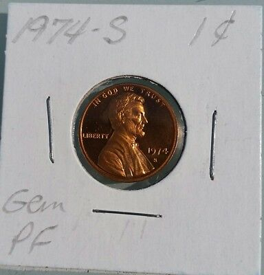 1974-S 1C Lincoln Memorial Penny Gem Proof Wow Receive This Coin