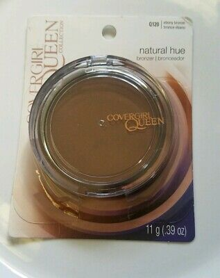 1 Compact Q120 ebony bronze CoverGirl Queen Collection  Bronzer - Natural Hue