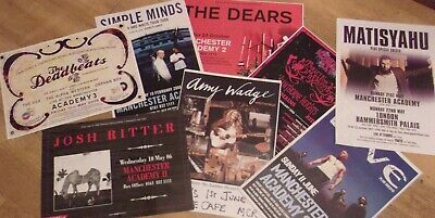 Concert Posters Manchester 2000-2013