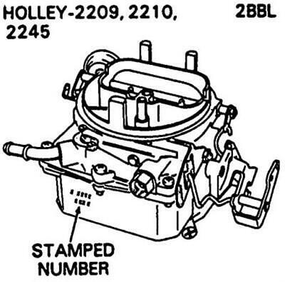 Carburetor Kit For International Truck 1963 1980 1981 8cyl Holley