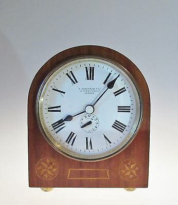 Antique Camerer Kuss ( aka Camerer Cuss ) Mantel ( Mantle ) Clock