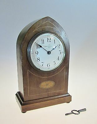 Attractive Edwardian Mantel clock by Benetfink & Co London