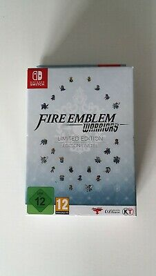 Fire Emblem Warriors - Limited Edition. Nintendo Switch. New & Sealed. Nuevo