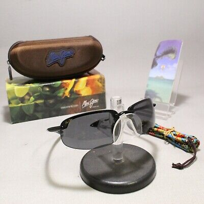 948e6abe98 POLARIZED MAUI JIM Sunglasses NIGHT DIVE MJ 521-25M Brown Frames w ...