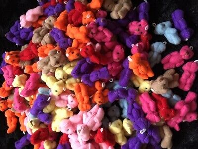 Miniature Handmade Cute Jointed 4Cm Teddy Bears Party Bags/Dolls House 1/12 Size