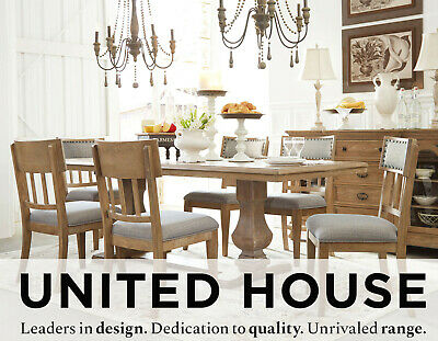 Fletcher Timber Extension Dining Table and Chairs Set Extendable Hamptons Suite