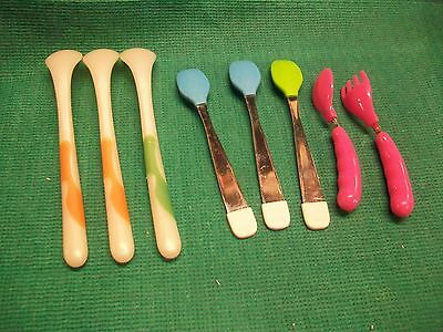 8  Baby Spoons Unbranded