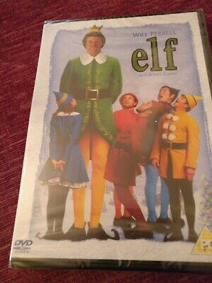 Elf (DVD, 2005), Certificate PG. Staring Will Ferrell with James Caan