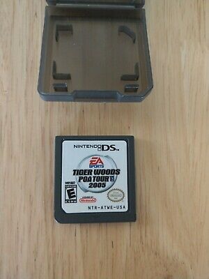 Tiger Woods PGA Tour (Nintendo DS, 2004) Game Only