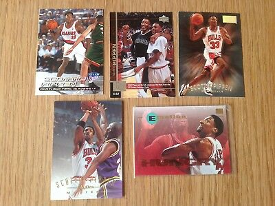 Job Lot Scottie Pippen NBA Basketball Trading Cards