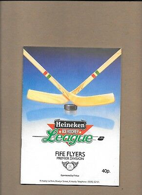 Fife Flyers v Scottish Select Programme 14th September 1985 **MINT**