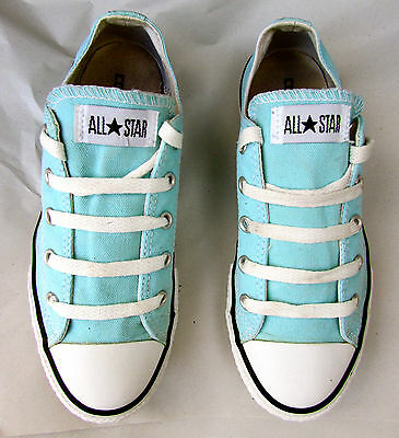CONVERSE ALL STAR childrens boys girls womens canvas TRAINERS UK 2 - Eur 34