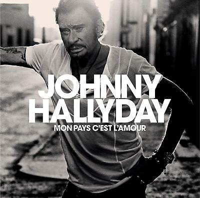 Johnny Hallyday mon pays c'est l'amour vinyl blanc collector neuf 1ere edition