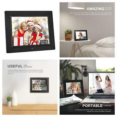 Crosstour Digital Photo Frame 8 Inch, Wide Screen Electronic Picture/Music/Vi...