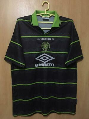 Celtic Scotland 1998/1999 Away Football Shirt Jersey Vintage Umbro