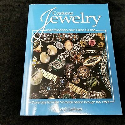 Costume Jewelry Identification and Price Guide Book by Leigh Leshner 2004