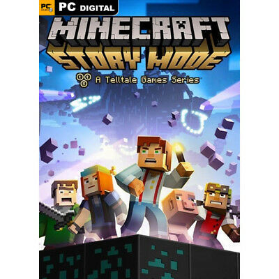 Minecraft Story Mode A Telltale Games Series access to STEAM accoun offline 24/7