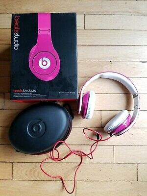 BEATS BY DR  Dre Studio Wired Headband Headphones - Pink - $81 00