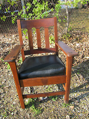 Antique Good Stickley Brothers Arm Chair inv3161