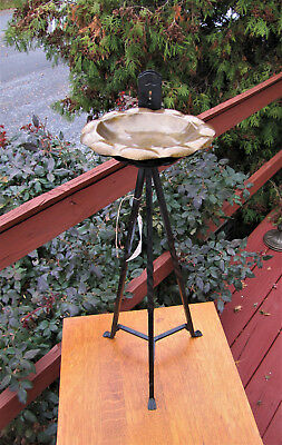 Antique Arts & Crafts Smoking Stand  inv2076