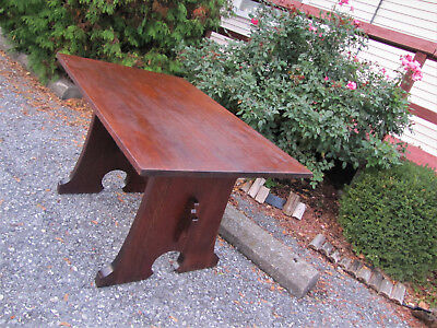 Antique L&jG Stickley Mouse Hole Table  inv3039