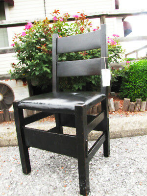 Antique Rare Gustav Stickley Chair  inv2778