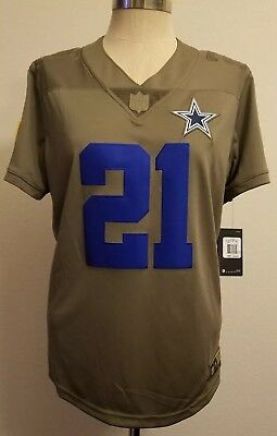 quality design 1e8d5 15702 DALLAS COWBOYS JASON Witten Nike Salute to Service Jersey ...