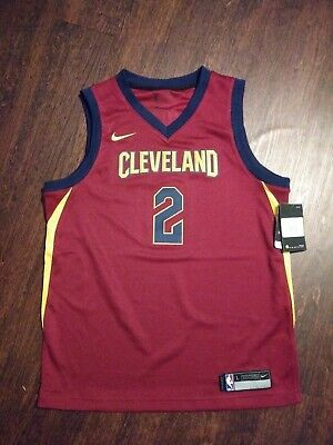 NWT Nike Cleveland Cavaliers Kyrie Irving JerseyYouth Large Dri-fit $70 New Nba