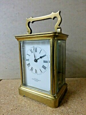 "ANTIQUE SMALL VICTORIAN CARRIAGE CLOCK...""MAPPIN & WEBB"" BY R&Co"