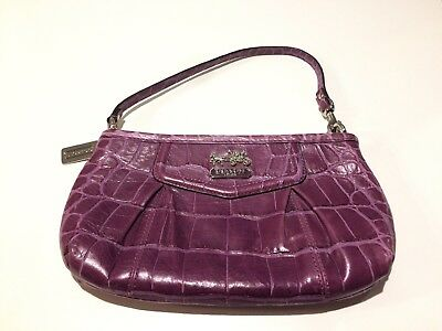 Mothers Day Gift NWT COACH MADISON 43223 Leather Wristlet  ~VERY RARE COPPER!