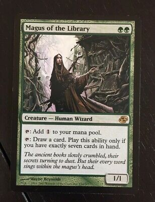 1x Magus of the Library- MTG (Planar Chaos)
