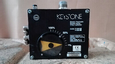 Keystone/Electro-Pneumatic Valve Positioner Cover / Type: P 2000