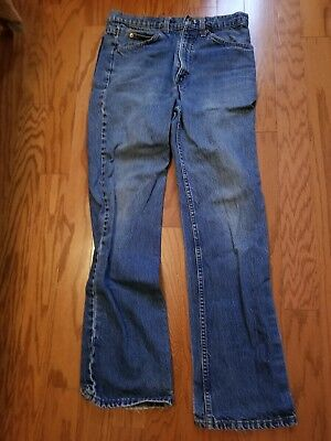 B0113 Levis Boys Blue Loose Straight Slim Jeans Size 10 (31 X 30) Combine Ship