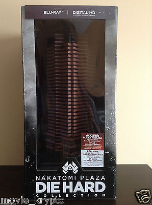 Nakatomi Plaza: Die Hard Collection (Blu-ray Disc, 2015, 6-Disc Set,...