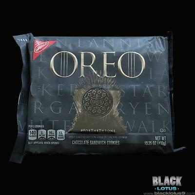 NEW Oreo Oreos Game of Thrones House Stark Lannister Targaryen White Walkers