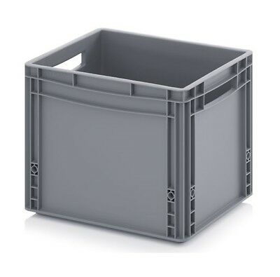 Euro Containers 40x30x32 30l Stacking Storage Box Eurobox Stackable 400x300x320
