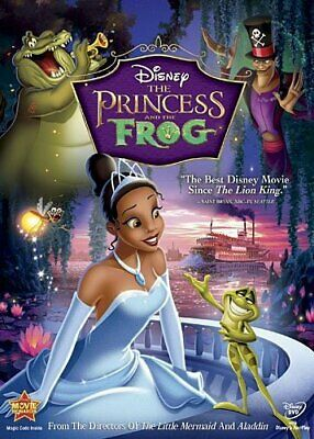 The Princess and the Frog (DVD, 2010, Slip Case)