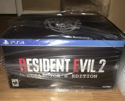 Resident Evil 2 COLLECTORS EDITION BRAND NEW! Sony PS4 PlayStation SOLD OUT EXC!