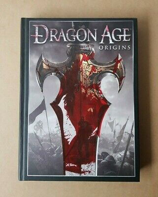 2009 Dragon Age Origins Collectors Edition Strategy Game Guide Hardcover Book