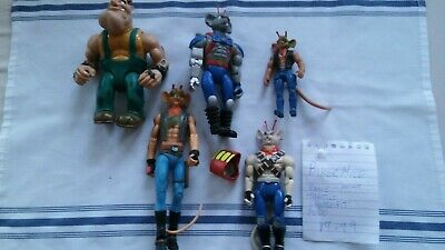 G2/73 Biker Mice From Mars Vinnie Throttle Modo Greasepit 5 Figures Gallob 1993